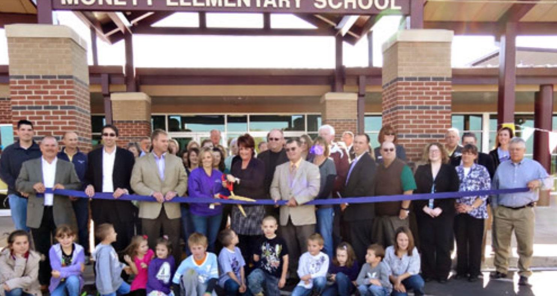 Grand opening of Monett Elementary School