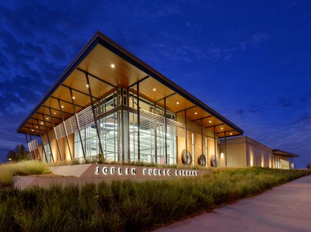 Sapp Design Associates Architects P C Springfield Missourijoplin Public Library Sapp