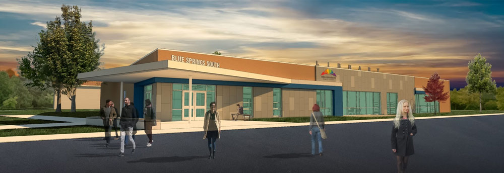 Blue Springs South Public Library rendering