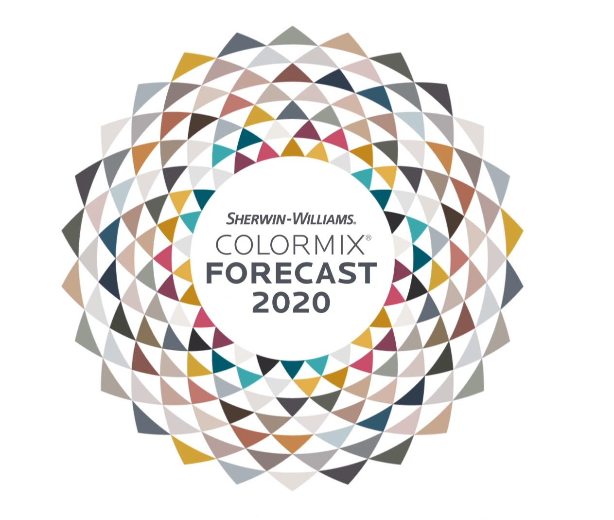 Colormix forcast logo, 2020