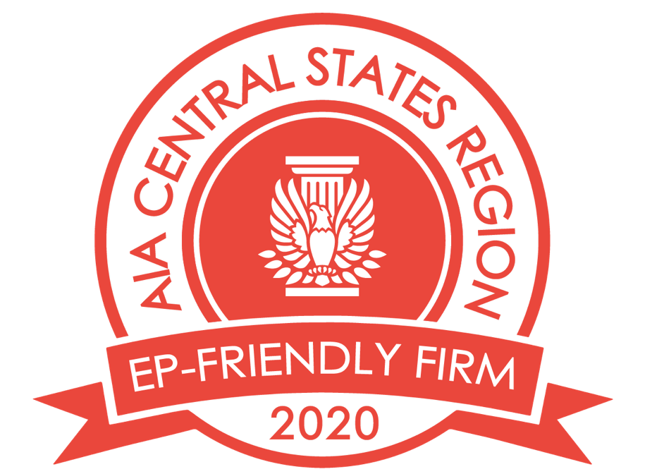 Red Badge signifying an EP-Friendly Firm